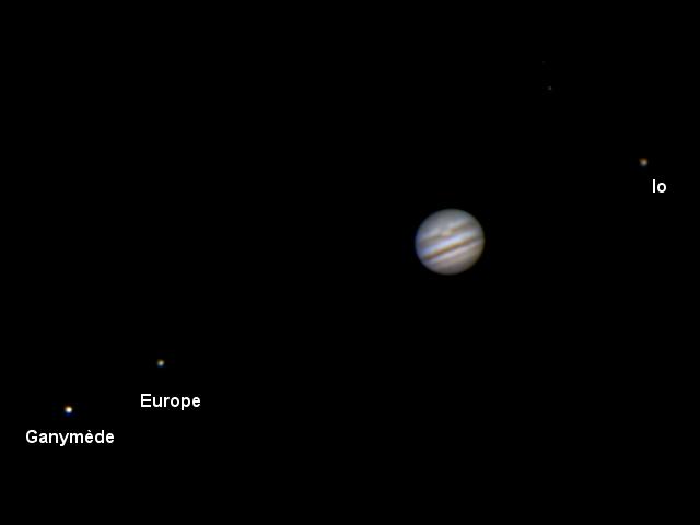 animation de Jupiter