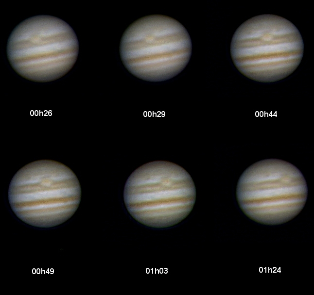 animation de Jupiter
